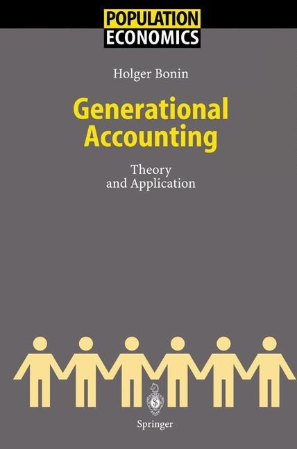 Generational Accounting   Bonin, 2001   Buch (Cover)