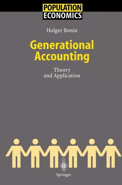 Abbildung von Bonin | Generational Accounting | 2001