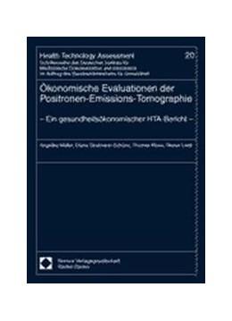 Abbildung von Müller / Stratmann-Schöne / Klose | Ökonomische Evaluationen der Positronen-Emissions-Tomographie | 2001 | - Ein gesundheitsökonomischer ... | 20