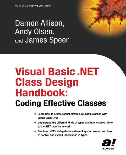 Visual Basic .NET Class Design Handbook | Olsen / Allison / Speer | Softcover reprint of the original 1st ed., 2003 | Buch (Cover)