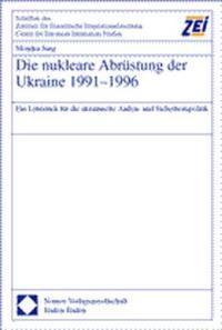 Die nukleare Abrüstung der Ukraine 1991-1996 | Jung, 2000 | Buch (Cover)