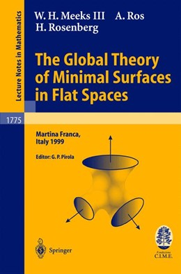 Abbildung von Meeks / Pirola / Ros | The Global Theory of Minimal Surfaces in Flat Spaces | 2002 | Lectures given at the 2nd Sess... | 1775