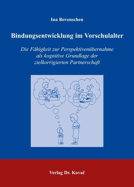 Bindungsentwicklung im Vorschulalter | Bovenschen, 2006 | Buch (Cover)