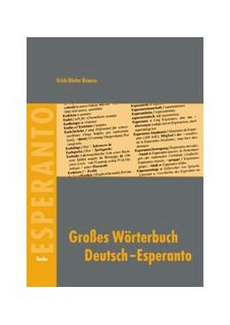 Abbildung von Krause | Großes Wörterbuch Deutsch-Esperanto | 2007