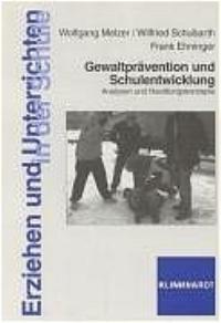 Abbildung von Melzer / Schubarth / Ehninger | Gewaltprävention und Schulentwicklung | 2004