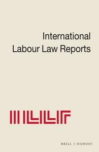 International Labour Law Reports, Volume 14 | Aaron / Morgenstern / Verdier / Wedderburn of Charlton / Ramm / Sigeman / Bar-Niv, 1996 | Buch (Cover)