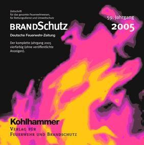 BRANDSchutz 2005 auf CD-ROM | 59. Jahrgang, 2006 (Cover)