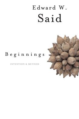 Abbildung von Said   Beginnings   1985   Intention and Method