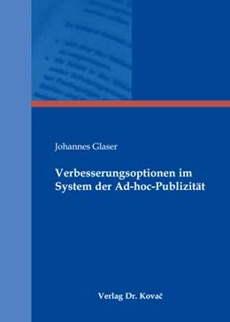Abbildung von Glaser   Verbesserungsoptionen im System der Ad-hoc-Publizität   2008   30