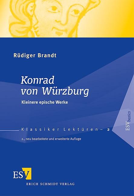 Konrad von Würzburg | Brandt | neu bearbeitete und erweiterte Auflage, 2009 | Buch (Cover)