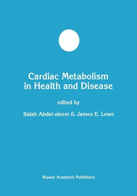 Abbildung von Abdel-aleem / Lowe | Cardiac Metabolism in Health and Disease | 1998