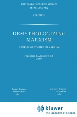 Abbildung von Adelmann | Demythologizing Marxism | 1970 | A Series of Studies on Marxism | 2