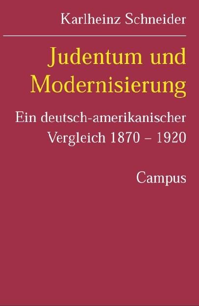 Abbildung von Schneider | Judentum und Modernisierung | 2005