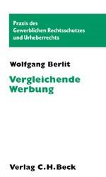 Vergleichende Werbung | Berlit, 2002 | Buch (Cover)