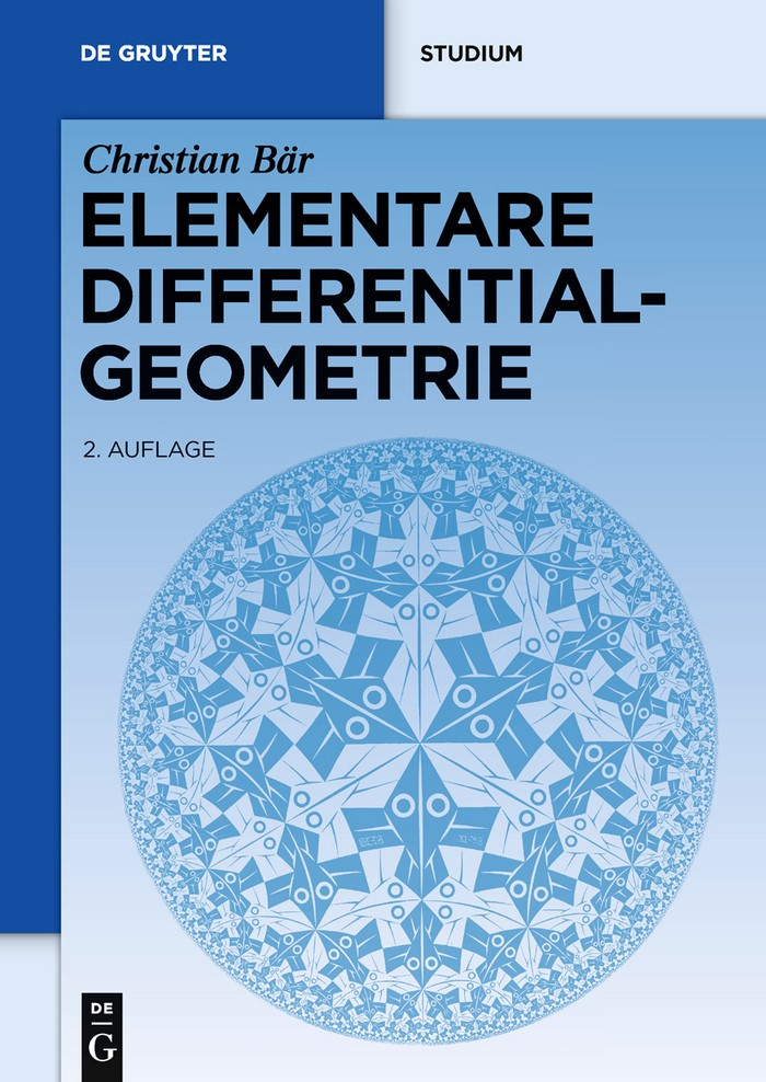 Elementare Differentialgeometrie   Bär   2nd corr. and rev. ed., 2010   Buch (Cover)