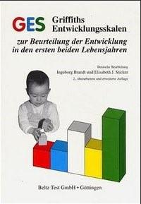 GES Griffiths Entwicklungsskalen | Brandt / Sticker, 2001 | Buch (Cover)