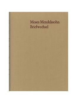 Abbildung von Mendelssohn / Altmann | Moses Mendelssohn: Briefwechsel der letzten Lebensjahre | 1979 | Sonderausgabe