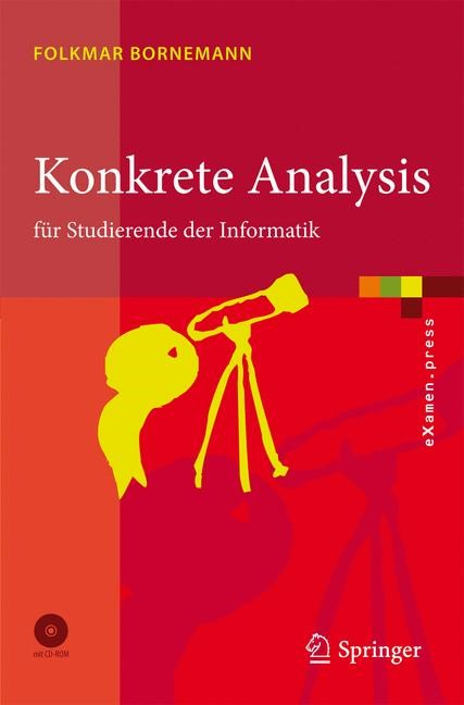Konkrete Analysis   Bornemann, 2008   Buch (Cover)