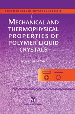 Abbildung von Brostow | Mechanical and Thermophysical Properties of Polymer Liquid Crystals | 1998 | 3