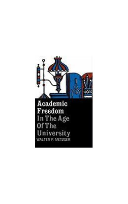 Abbildung von Metzger | Academic Freedom in the Age of the University | 1961