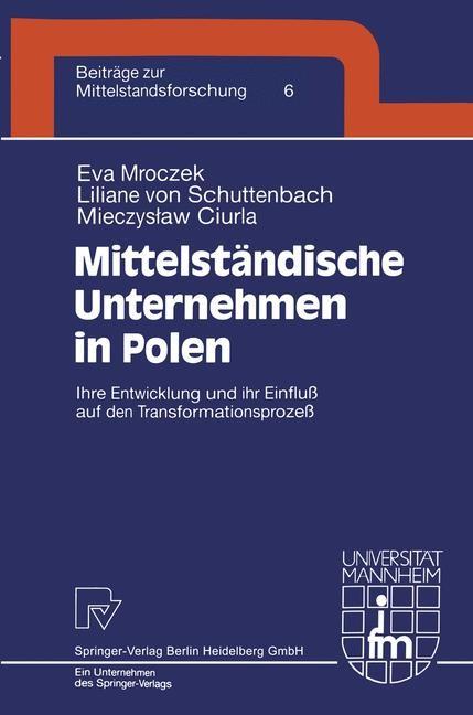 Mittelständische Unternehmen in Polen | Mroczek / Schuttenbach / Ciurla, 2000 | Buch (Cover)