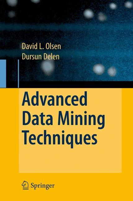 Advanced Data Mining Techniques | Olson / Delen, 2008 | Buch (Cover)