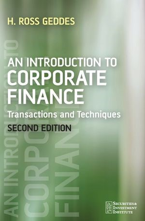 An Introduction to Corporate Finance | Geddes | 2. Auflage, 2006 | Buch (Cover)