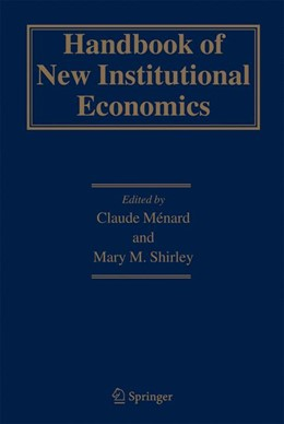 Abbildung von Ménard / Shirley | Handbook of New Institutional Economics | 2008