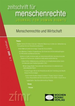 Abbildung von Debus / Kreide   Menschenrechte und Wirtschaft   1. Auflage   2009   beck-shop.de