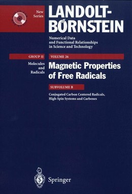 Abbildung von Adam / Howard / Neugebauer | Conjugated Carbon Centered Radicals, High-Spin Systems and Carbenes | 2002 | 26B