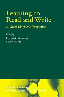 Abbildung von Harris / Hatano   Learning to Read and Write   1. Auflage   2006   2   beck-shop.de