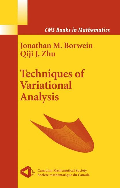 Techniques of Variational Analysis | Borwein / Zhu, 2005 | Buch (Cover)