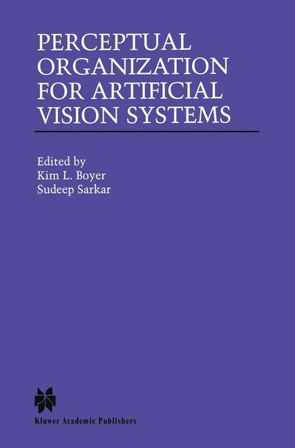 Perceptual Organization for Artificial Vision Systems | Boyer / Sarkar, 2000 | Buch (Cover)