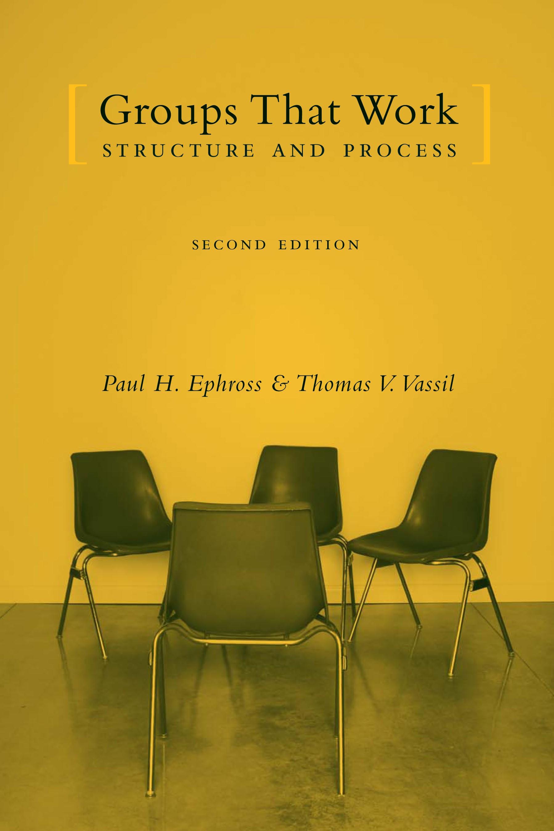 Abbildung von Ephross / Vassil | Groups That Work | second edition | 2005