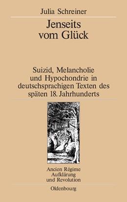 Abbildung von Schreiner | Jenseits vom Glück | Reprint 2014 | 2003 | Suizid, Melancholie und Hypoch... | 34