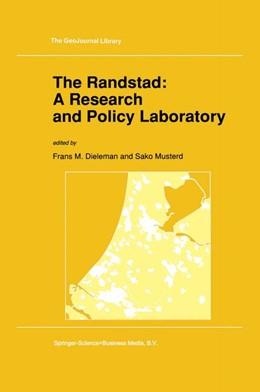 Abbildung von Dieleman / Musterd | The Randstad: A Research and Policy Laboratory | 1992 | 20