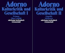 Abbildung von Adorno | Gesammelte Schriften in 20 Bänden | 2003 | Band 10: Kulturkritik und Gese... | 1710
