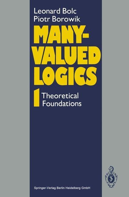 Abbildung von Bolc / Borowik | Many-Valued Logics 1 | 1992