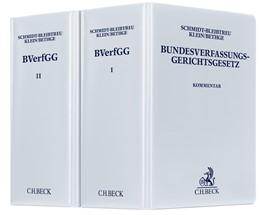 Abbildung von Maunz / Schmidt-Bleibtreu / Klein / Bethge   Bundesverfassungsgerichtsgesetz: BVerfGG   58. Auflage   2020