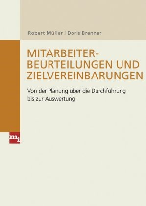 Mitarbeiterbeurteilungen und Zielvereinbarungen | Müller / Brenner, 2008 | Buch (Cover)