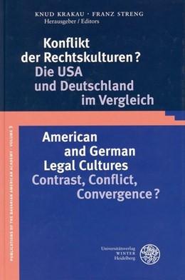 Abbildung von Krakau / Streng | Konflikt der Rechtskulturen? | 2003 | Die USA und Deutschland im Ver... | 3