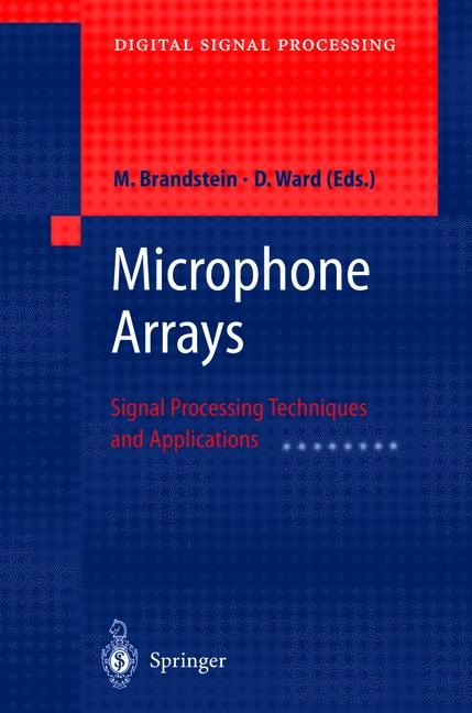 Microphone Arrays | Brandstein / Ward | 1st Edition. Softcover version of original hardcover edition 2001, 2010 | Buch (Cover)