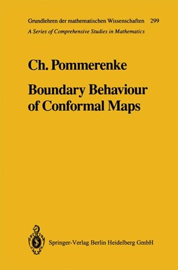 Abbildung von Pommerenke | Boundary Behaviour of Conformal Maps | 1st Edition. Softcover version of original hardcover edition 1992 | 2010 | 299