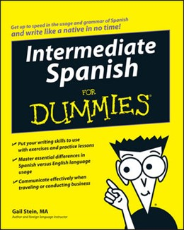Abbildung von Stein | Intermediate Spanish For Dummies | 2008