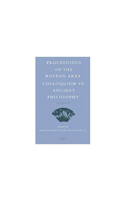 Abbildung von Cleary / Gurtler | Proceedings of the Boston Area Colloquium in Ancient Philosophy | 2008 | Volume XXIII (2007) | 23