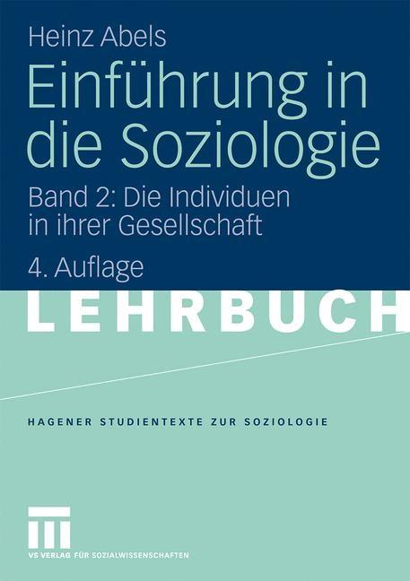Abbildung von Abels | Einführung in die Soziologie | 2009