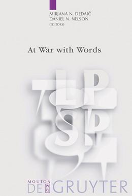 Abbildung von Dedaic / Nelson | At War with Words | Reprint 2012 | 2003 | 10