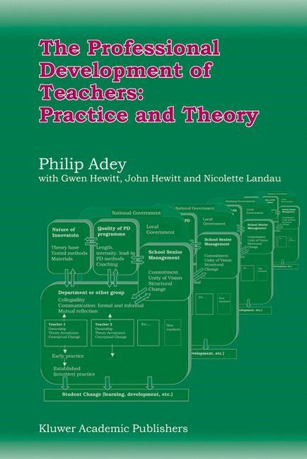 Abbildung von Adey | The Professional Development of Teachers: Practice and Theory | 2004