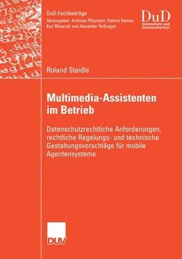 Abbildung von Steidle | Multimedia-Assistenten im Betrieb | 1. Auflage | 2005 | beck-shop.de