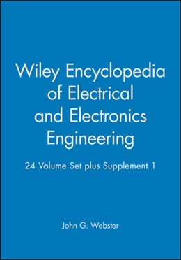 Abbildung von Webster | Wiley Encyclopedia of Electrical and Electronics Engineering | 2001 | 24 Volume Set + Supplement 1